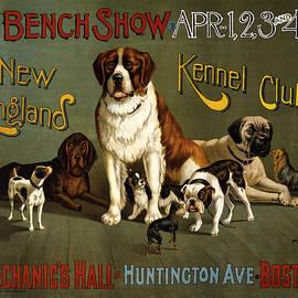 Studio Grafiikka - New England Kennel Club - Bench Show - Vintage Advertising Poster