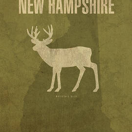 New Hampshire State Facts Minimalist Movie Poster Art - Design Turnpike