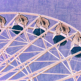 Ferris Wheel Series 2 Purple by Marianne Campolongo