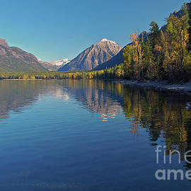 New Lake Mcdonald In September by Cindy Murphy - NightVisions