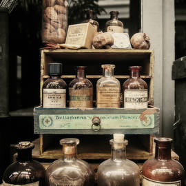 New Orleans Apothecary - square by Scott Pellegrin