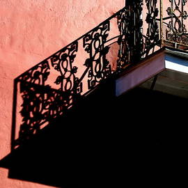 Michael Hoard - New Orleans French Quarter Balcony Illusion