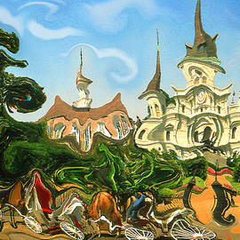New Orleans Is Jazz Music - Modern Artwork by Peter Potter