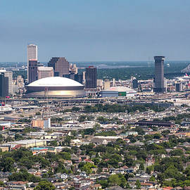 New Orleans Skyline Looking East by Gregory Daley  MPSA