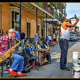 Steve Harrington - New Orleans Street Musicians Triptych