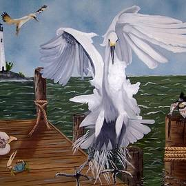 Debbie LaFrance - New Point Egret