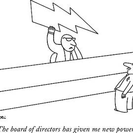 New Powers by Charles Barsotti