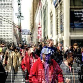 New York City Double Exposure by John Rizzuto