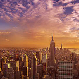 New York City Panorama by Rima Biswas