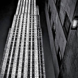 New York City Sights - Skyscraper by Walt Foegelle