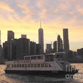 Dora Sofia Caputo Photographic Art and Design - New York City Skyline - The Golden Hour
