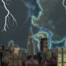 Ericamaxine Price - New York City Stormy Sky