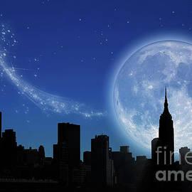 New York Fantasy by Ann Garrett