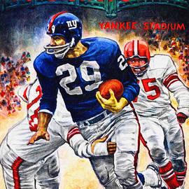 Big 88 Artworks - New York Giants 12-16-62 Football Program