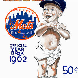 New York Mets 1962 Yearbook by John Farr