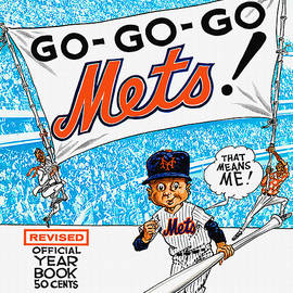 New York Mets 1966 Yearbook by John Farr