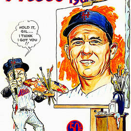 New York Mets 1968 Yearbook by John Farr