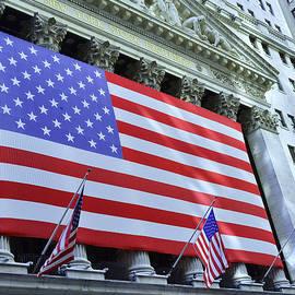 Allen Beatty - New York Stock Exchange American Flag 2