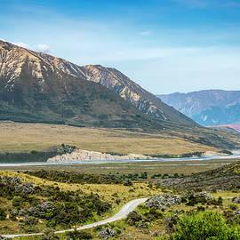 Joan Carroll - New Zealand South Island Landscape