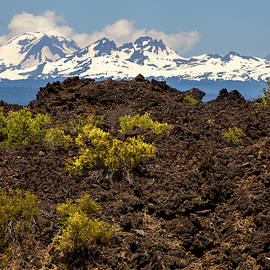 David Millenheft - Newberry National Volcanic Monument and Sisters Mountains