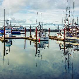 Newport Boats 2 by Catherine Avilez
