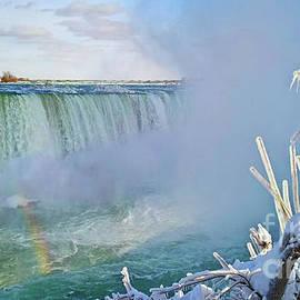 Charline Xia - Niagara Falls Winter Landscape