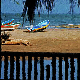 Andrew Millar - Nicaragua Boats and Beach
