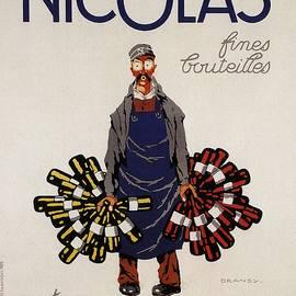 Studio Grafiikka - Nicolas Fines Bouteilles - Beverages - Vintage Advertising Poster