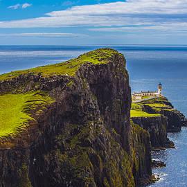 Neist Point Lighthouse I by Steven Ainsworth