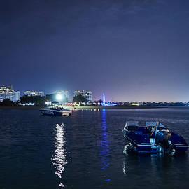 Night at Hilton Al Hamra Beach and Golf Resort at Ras al Khaimah by Jouko Lehto