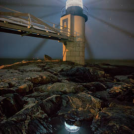 Rick Berk - Night at Marshall Point