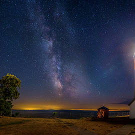 Mark Papke - Night at Tibbetts Point