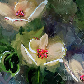 Night Blooming Dogwood by Lois Bryan
