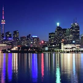 Frozen in Time Fine Art Photography - Night Colors of Toronto