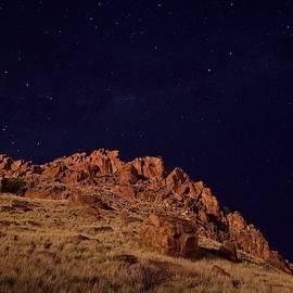 Chris Tangey - Night falls on a rusting land