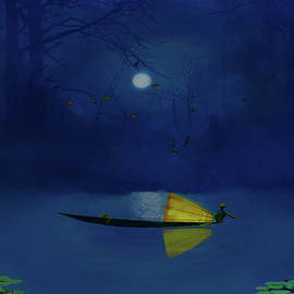 David Simons - Night Fishing