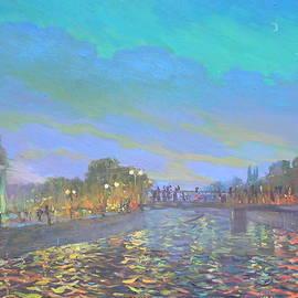 Night in my City by Helen Kishkurno