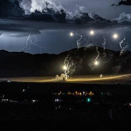 Mojave Night Lighting  by Lisa Manifold
