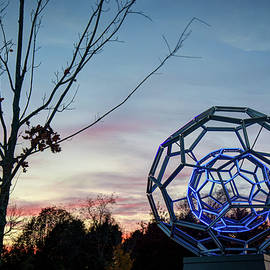 Gregory Ballos - The Light Within - BuckyBall Crystal Bridges Museum