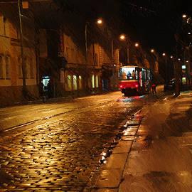 Jenny Rainbow - Night Tram in Prague
