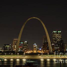 Reid Callaway - Night Watch Rebuild The Gateway Arch St Louis Missouri Art