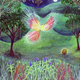 Lise Winne - Night With Fire bird and Sacred Bush