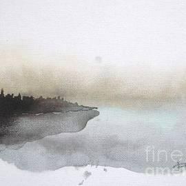 Nightfall On The Lake  by Vesna Antic