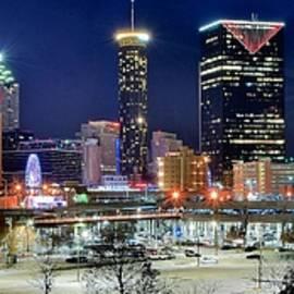 Skyline Photos of America - Nightlife in Atlanta