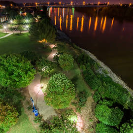 Nighttime At Coolidge Park by Stacey Sather