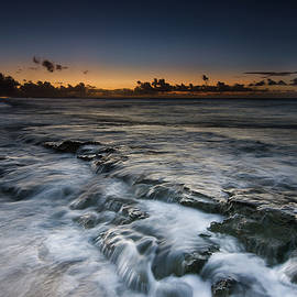 Nimitz Beach Sunrise by Tin Lung Chao