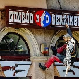 Richard Rosenshein - Nimrod Derringer Armory In Budapest, Hungary