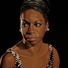 Paul Meijering - Nina Simone Painting 2