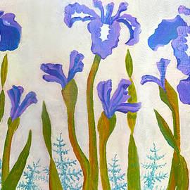Nine Iris by Teresa Ascone