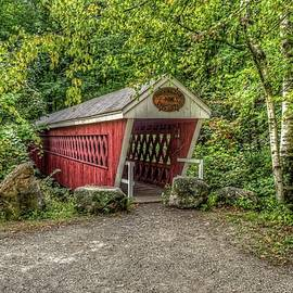 Randy Dyer - Nissitissit Covered Bridge